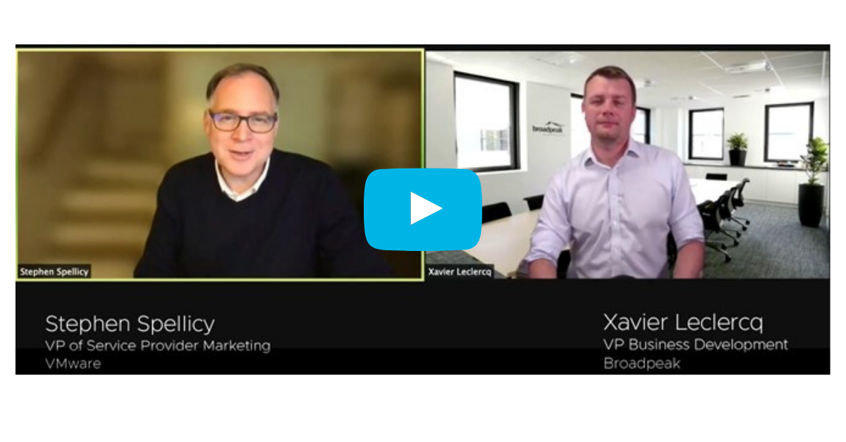 Stephen Spellicy VMware Xavier Leclercq Video Streaming QoE