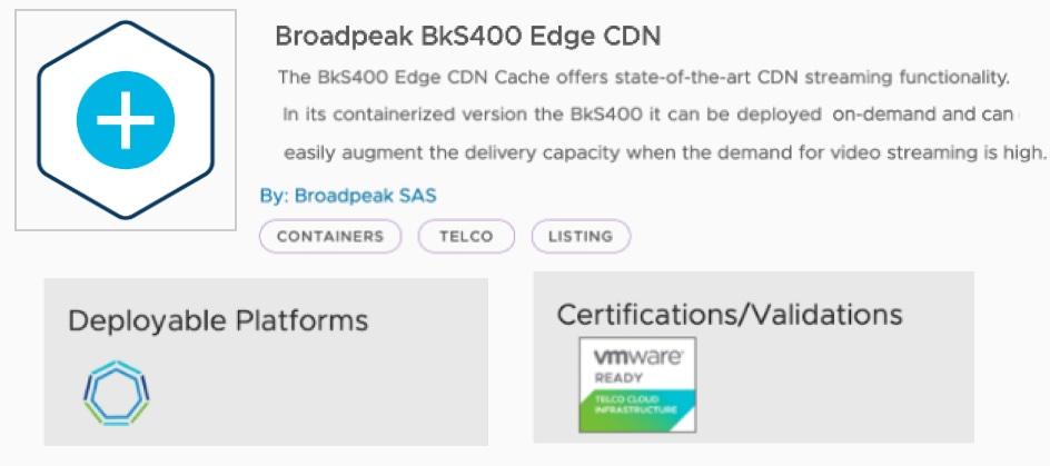 BKS400 Edge CDN Cache